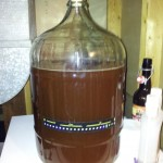 Wheat Beer In Secondary Fermenter