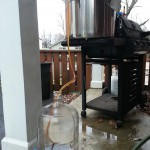 About this point I was thinking brewing in warmer weather would be a better idea.